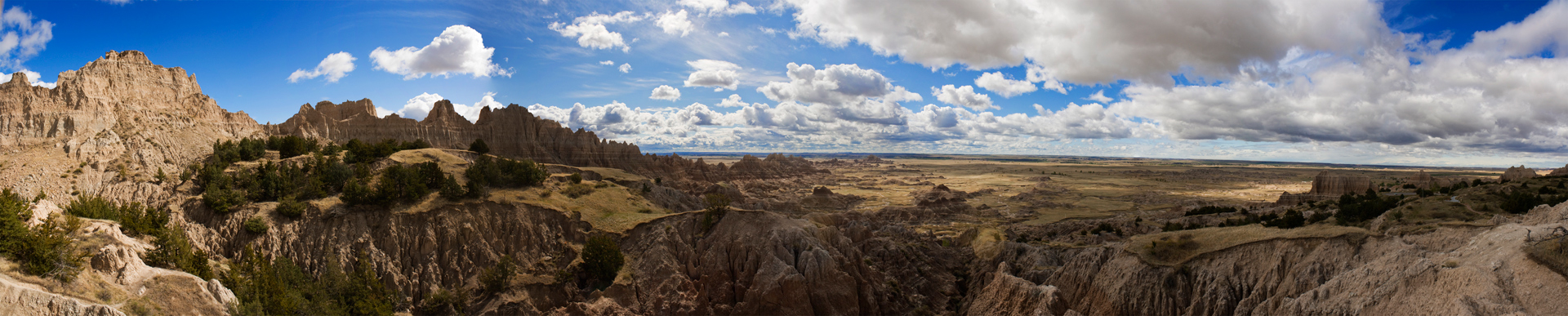 Badlands National Park Panoramic