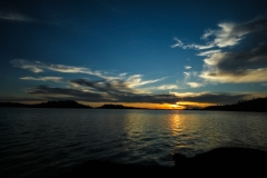 Brule Lake Sunset